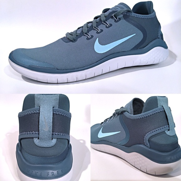 18a32e4643337 Nike Free Run 2018 Aqua Mens Running Shoes NEW